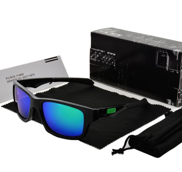 Marka Tasarımcısı Kadın Erkek Unisex Güneş Gözlüğü Vintage Gözlük Perakende kutusu ile UV400 Spor Bisiklet Güneş gözlükleri