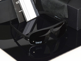 Famous brand sunglasses online shopping - Brand designer Sunglasses Male Glasses Driver Glasses Polarized Sun Glasses Male Famous Men Sunglasses P8517 with Retail box and case
