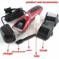 Wholesale Pet Electric Shaver - Pet Clipper CP-8000 electric shaver dog pet supplies low vibration low noise design chinapost 1pcs