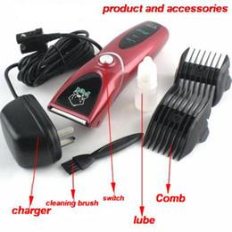 Wholesale Electric Pet Dog Clippers - Pet Clipper CP-8000 electric shaver dog pet supplies low vibration low noise design chinapost 1pcs