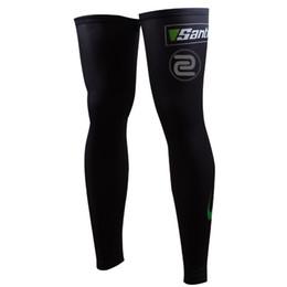 Wholesale Cycling Sleeve Leg - Legwarmers 2017 PRO TEAM BLACK bike Cycling solar warmer Leg Sleeves,Windproof,Legging,Sun UV Protect