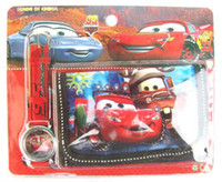 Wholesale Cars Watch Wallet Sets - New! Wholesale 40 pcs cartoon Car watches and 40 pcs wallet sets