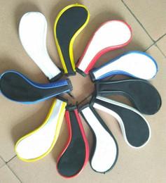 Опт Оптовая длинный zip гольф железа крышка OEM гольф headcover любой логотип может быть напечатан на