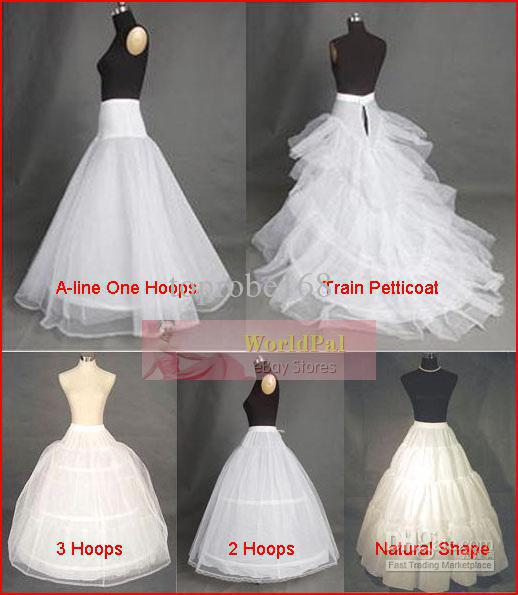Various petticoat underskirt underdress 5 kinds of for Petticoat under wedding dress