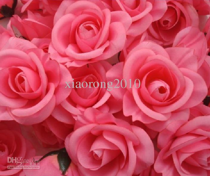 Silk Camelia Flower Head Half Open Artificial Flowers Roses Camellia Peony Wedding & Christmas Dia. 8cm