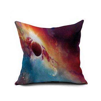 Astounding Chic Colorful Nordic Galaxy Decorative Pillowcase For Couch Linen Throw Pillows Sofa Chiar Cushion Covers 50 60 60Cm 18X18 26X26 All Size Dropship Inzonedesignstudio Interior Chair Design Inzonedesignstudiocom