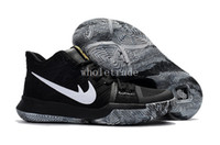 Wholesale 12 Months Thanksgiving - Free Shipping 2017 Kyrie 3 BHM Black History Month Mens Basketball Shoes kyrie bhm sneakers for sale size 7-12 Come With Box