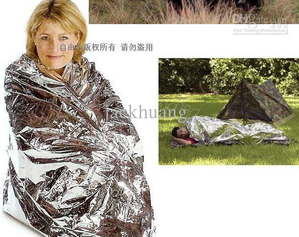 Cobertor de isolamento cobertor de emergência Cobertor de sobrevivência de salvamento cobertor cobertor de sobrevivência militar