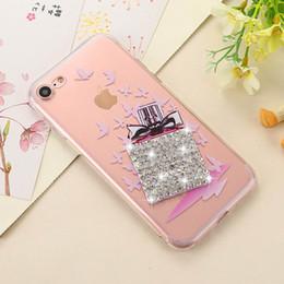 $enCountryForm.capitalKeyWord NZ - Luxury Rhinestone TPU rabbit cover case For Apple iphone6 4 4s 5 5s 6 6s 6plus 6splus fashion women diamond phone cases shel
