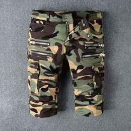 Wholesale Men Camouflage Cargo Shorts - Cargo Shorts Men Hot Sale Casual Camouflage mens robins Shorts Summer Brand Clothing Cotton Fashion Army Work Shorts For Men Plus Size 30-42