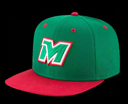 Wholesale Cotton Logos Design - Hot Sale Green Mexico Baseball Cap Embroidery Team logo Gorra de beisbol Full Closed Design Mexico Fitted Caps For Men & Women Sport Hat