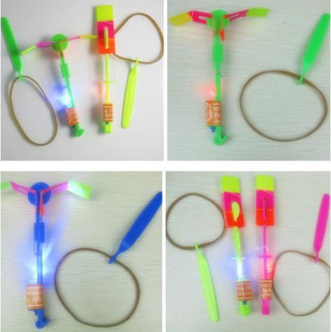 LED-lichte ruimte vliegende pijl helikopter speelgoed
