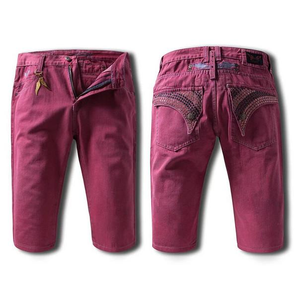 2017 Casual Men Robin Jean Shorts, Men'S Pants Denim Robins Shorts ...