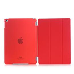 Ультра тонкий задняя крышка для iPad 2 3 4 mini3 mini4 смарт-магнитный Foilo чехол для ipad air2 флип стенд жесткий прозрачный кристалл задняя крышка