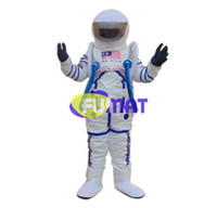 astronaut kostüme großhandel-FUMAT Raumanzug Heißer Verkauf Maskottchen Kostüme Weihnachten Maskottchen Kostüm Astronaut Cartoon Maskottchen Kostüm Bild Anpassung