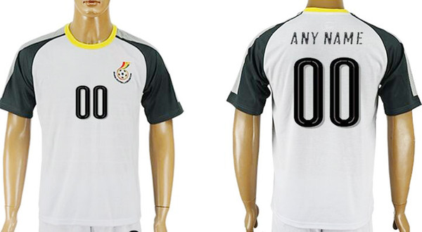 05dc8ebcff0 Wholesale National Team Ghana Soccer Jersey Top Quality Customized Any Name  Any Number Football Shirts Kits Uniforms Free Shipping