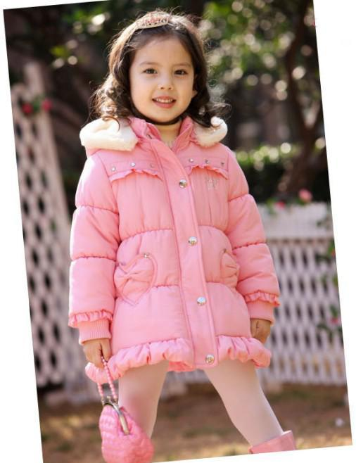 B2w2 Girl Coat Girls Overcoat Girls Winter Outerwear Jacket Girls