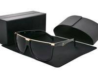 солнцезащитные очки для розничной продажи оптовых-Высокое качество, новые модные солнцезащитные очки для мужчин, женщин, очков бренда, дизайнер солнцезащитных очков UV400 линзы с коробкой и футляром