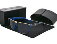 kaliteli kadın güneş gözlüğü toptan satış-1 adet Yüksek Kalite Mens Womens Tasarımcı Güneş Gözlüğü Pilot Güneş Gözlükleri UV400 koruma Lensler kutusu ve kılıfları ile Daha Iyi