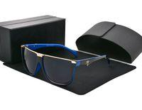 gafas de sol de protección solar al por mayor-1 unids alta calidad para mujer para hombre gafas de sol de diseñador gafas de sol de protección UV400 lentes mejor con caja y estuches