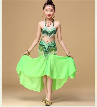 476274b68b84 2019 New Children Belly Dance Dresses Girls Indian Dance Performance ...