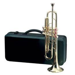 Wholesale Gold Brass Trumpet - JINBAO New professional trumpet great sound metal technique