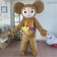 Wholesale Pictures Happy - FUMAT Monkey Mascot New Arrival Hairy Big Eyes Happy Face Big Ears Costume Activity Party Cartoon Fancy Dress Pictures Customization