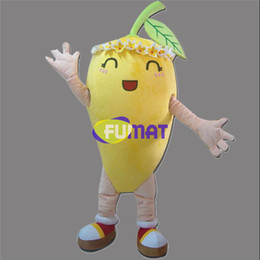 fruit fancy dress 2019 - FUMAT Mango Cartoon Mascot Costume Fruit Mango Cartoon Doll Suit Adult Size Fancy Dress Party Carnival Costume Picture C
