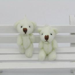 Ted Teddy bear plush online shopping - 40pcs Kawaii Small Joint Teddy Bears Stuffed Plush CM Toy Teddy Bear Mini Bear Ted Bears Plush Toys Wedding Gifts