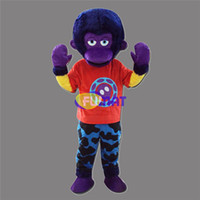 costume adulte d'orang-outan achat en gros de-FUMAT Orangutan Gorilla Mascot Costume Suit Animal Cute Monkey Mascot Outfit Adult Christmas Halloween Party Dress Personnalisation