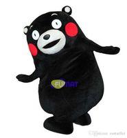 urso traje da mascote terno venda por atacado-FUMAT Kumamon Bear Mascot Costume Animal Urso Adulto Tamanho Fantasia Vestido de Aniversário Da Festa de Natal do Dia Das Bruxas Terno Fantasia Pictures Personalização