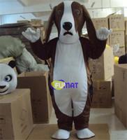 Wholesale Dog Costume Dachshund - FUMAT Basset Dog Mascot dachshund Dog Costumes Mascot Costume April Fool's Day Mascot Fancy Dress Adult Size Pictures Customization