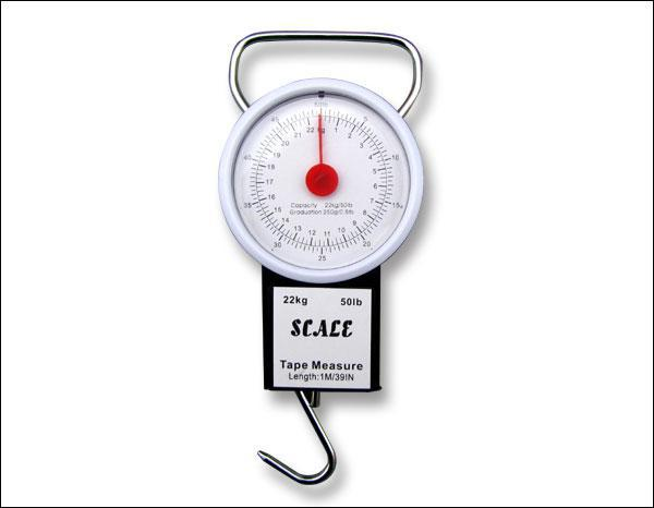 2017 50lb Weight Travel Baggage Luggage Scale With Tape Measure ...