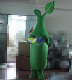 trajes de mascotes de planta Desconto Plantas FUMAT Vs Zumbis Planta Traje Da Mascote Animação Animação Roupas Dos Desenhos Animados do Corpo Verde Planta Dos Desenhos Animados do Traje Pictures Personalização