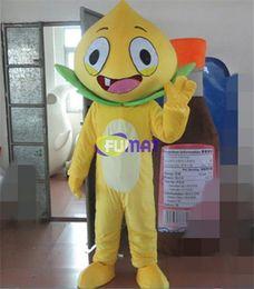 Discount fruit fancy dress - FUMAT Fruit Peach Mascot Costumes Christmas Fancy Dress Yellow Peach Cartoon Adult Fruit Cartoon Mascot Costumes Customi
