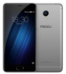 "Desbloqueado Original Meizu M3S Teléfono móvil MTK MT6750 Octa Core 2GB / 3GB RAM 16G / 32GB ROM Android 5.0 ""2.5D Cristal 13MP Fingerprint Cell Phone"