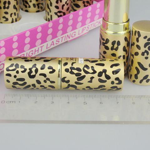 es cosméticos lápiz labial redondo con soporte de exhibición Moda 2 / Color / 8058 # 3.8g