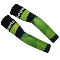 Wholesale aogda cycling resale online - RETAIL AOGDA GREED PATTERN Cycling Arm Warmers Basketball Arm Sleeves Outdoors Sports Sweat Discharge Breathable Arm Warmers