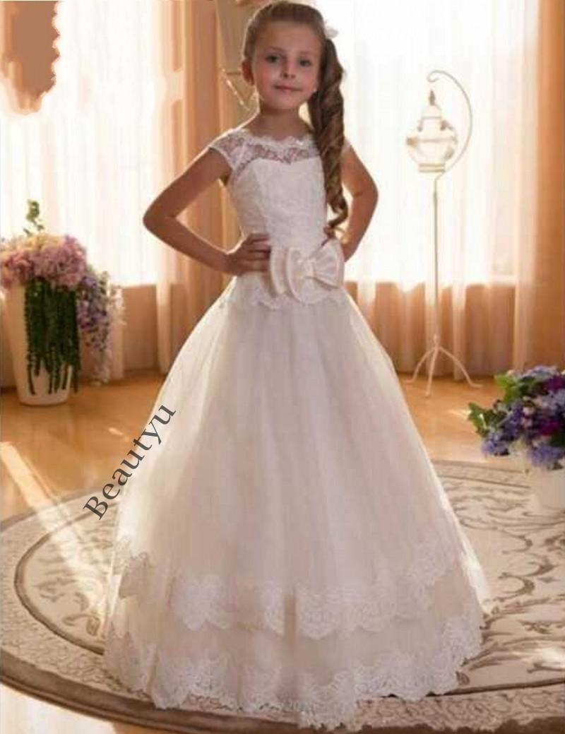 2017 fast shipping flower girl dress for weddings lace tiered 2017 fast shipping flower girl dress for weddings lace tiered skirt tulle first communion dresses for girls corset back birthday gown girls boutique dresses ombrellifo Image collections