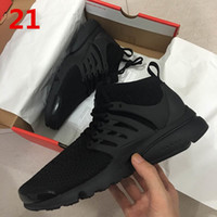 2017 Hot Sale Presto Ultra Olímpicos BR QS Mulheres Men Running Shoes NAVY / RED / GOLD 2018 Moda Casual Walking Airs Sports Sneakers Tamanho 36-45