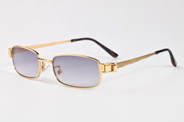 Snap button SunglaSSeS online shopping - 2017 New Snap Glasses Metal Gold Silver Sunglasses Women Fashion Retro Snap Button Sunglasses Goggles Sun glasses