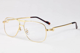 2017 marca de luxo aviador óculos de sol das mulheres designer de marca  espelho retro vintage óculos de sol para os homens de grandes dimensões  limpar lente ... a807f74db2