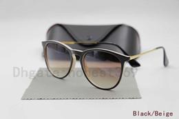 Wholesale Drop Shipping Sunglasses - New Women Sunglasses Erika UV400 Designer Sun Glass Original Glass Lenses Summer Eyewear Drop Shipping