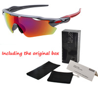 Wholesale brand sunglasses men women with Original Accessories new fashion men s Bicycle sunglass Sports cycling goggles driving sun glasses