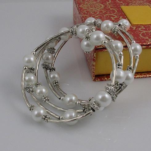 特別なデザイン美しい母なる銀のブレスレット女性のブレスレット送料無料A1779b
