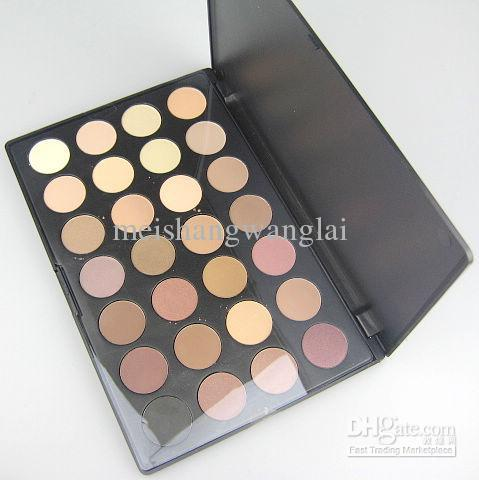1 Sztuk / partia Pro 28 Kolor Matowy Paleta Eyeshadow Palette Eye Shadow Makeup Eyeshadow Suite Łatwe do noszenia 6 #