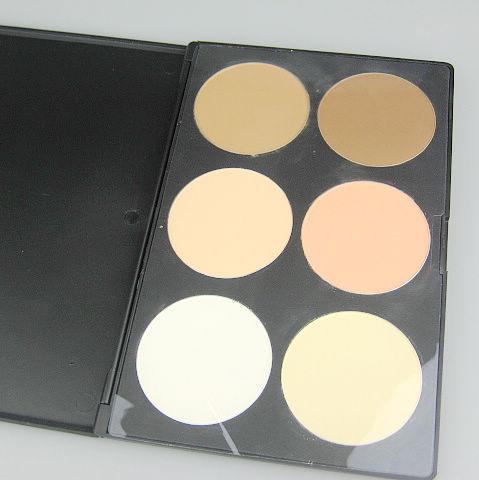2 шт. / Лот Профессиональная 6-цветная пудра Ремонтная пудра Blush Palette; косметика компактная пудра