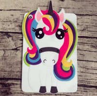 Wholesale 3d Case For Ipad - Unicorn Cartoon 3D Cover Silicone Case for apple 2017 iPad mini 4 3 2 1 air 1 2 9.7 10.5