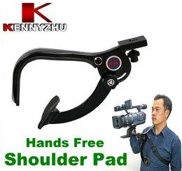 Wholesale Video Hands - DSLR Shoulder Support Pad Stabilizer For 6kg Video Cameras DV Camcorder Hands-free Comfortable Shooting