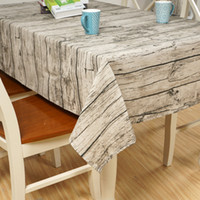 Wholesale Exotic Tables - Art OF Wood New Exotic Flowers National Wind Wood Design House Restaurant Cotton And Linen Tablecloth Table Cloth Art Home Decor